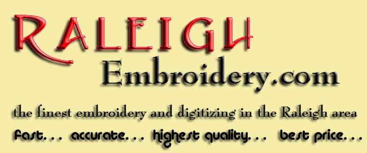 Raleigh Embroidery header